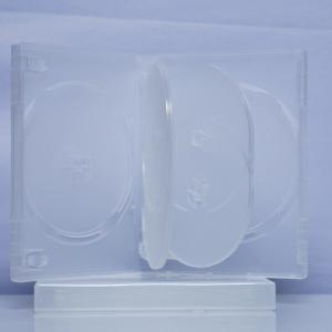 Carcasa DVD transparenta pentru 6 discuri0