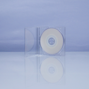Carcasa slim mini CD transparenta0