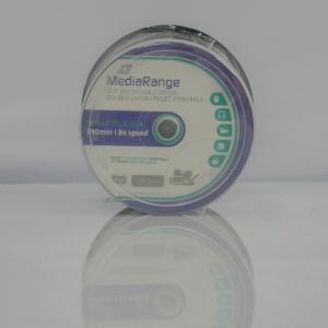 MediaRange DVD+8X DL 8,5 GB Dual Layer printabil ALB MAT 10 bucăți0