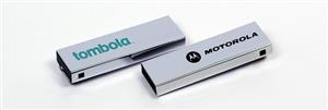 Mini Stick USB personalizat metalic cu clapetă3