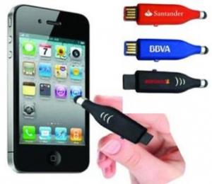 Mini STYLUS USB personalizat – Ideal pentru smartphone sau tabletă0