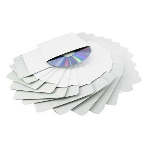 Plic CD din carton alb 100 bucăți2