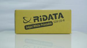 Ridata CD-R full printabil alb mat 50 bucăți3