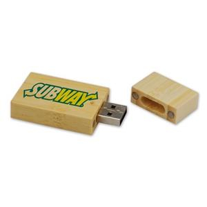 Stick USB din lemn1