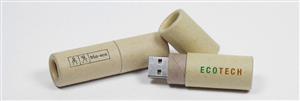 Stick USB personalizat din hârtie reciclată2