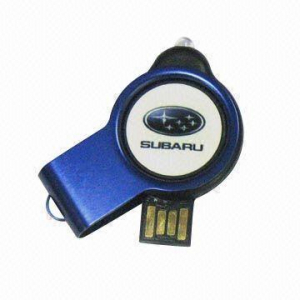 Stick USB swivel cu LED0
