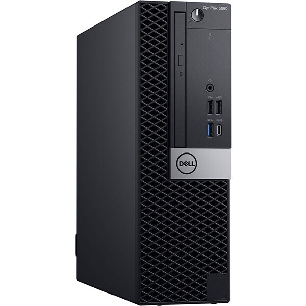 Sistem Desktop PC DELL OptiPlex 5060 SFF, Intel Core i5-8500 pana la 4.1GHz, 8GB, SSD 256GB, Intel® UHD Graphics 630, Windows 10 Pro 1
