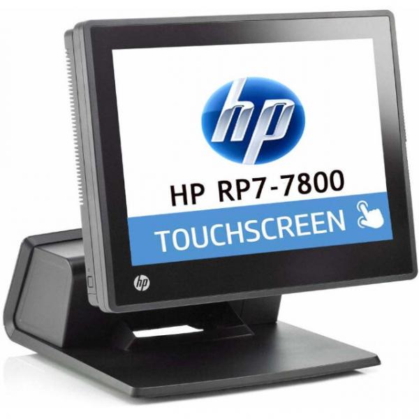 HP RP7 Refurbished Retail System 7800 Touch Intel Celeron G540 2.5GHz 4GB Ram 128GB SSD [0]