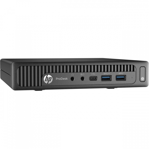 Calculator second hand HP ProDesk 600 G1 DM Intel Core i5-4590T 2.00GHz  4GB DDR3 500GB HDD TINY 0