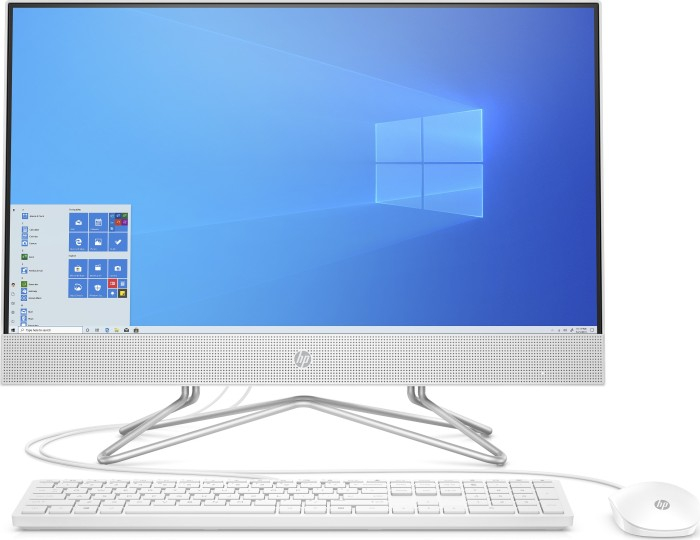 HP 24-df0013ng 60.5 cm (23.8 inch) All-in-one PC Intel® Core™ i5 i5-1035G1 8 GB 512 GB SSD Intel UHD Graphics Windows® 10 HOME 0