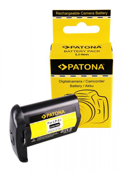 Acumulator Patone pentru Canon LP-E4 EOS 1D Mark III 1D Mark IV 1Ds Mark III 0