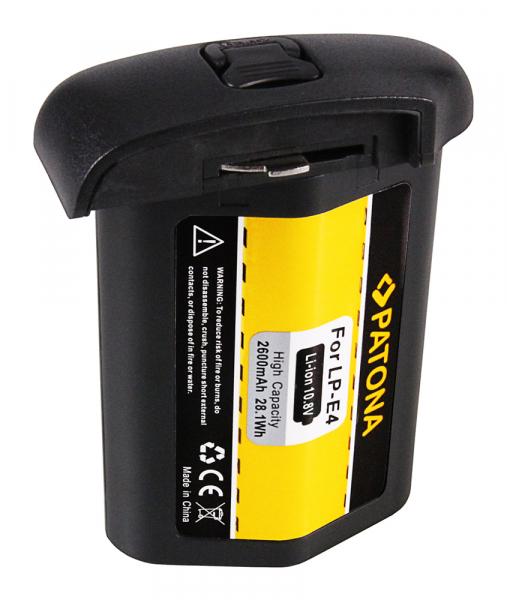 Acumulator Patone pentru Canon LP-E4 EOS 1D Mark III 1D Mark IV 1Ds Mark III 2