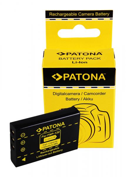 Acumulator Patona pentru Fujifilm NP-120 FinePix 603 F10 F11 NP-120 NP-120 Pentax NP-120 0