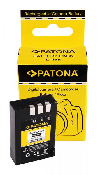 Acumulator Patona pentru Fujifilm vechi Fuji NP-140 FinePix S100FS 0