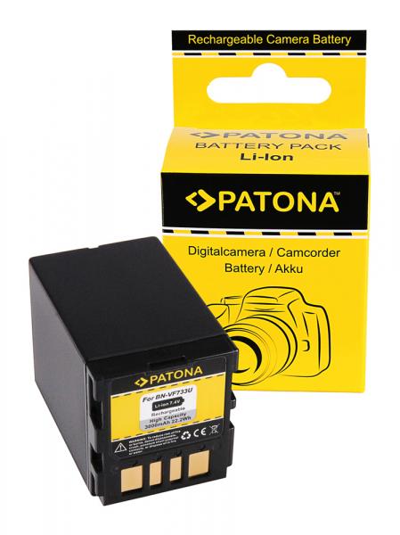 Acumulator Patona pentru JVC BN-VF733 GR GRD239 GR-D239 GRD239E GR-D239E GRD240 GR-D240 0