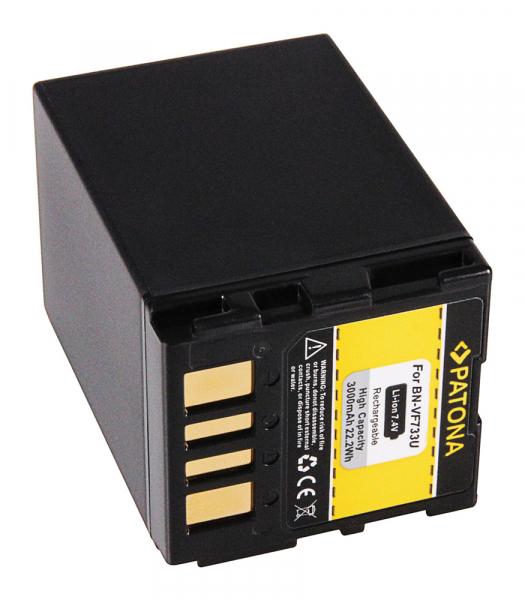 Acumulator Patona pentru JVC BN-VF733 GR GRD239 GR-D239 GRD239E GR-D239E GRD240 GR-D240 2