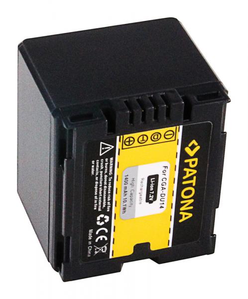 Acumulator Patona pentru Hitachi CGA-DU14 DZMV350A DZ-MV350A DZMV350E DZ-MV350E DZMV380A 2
