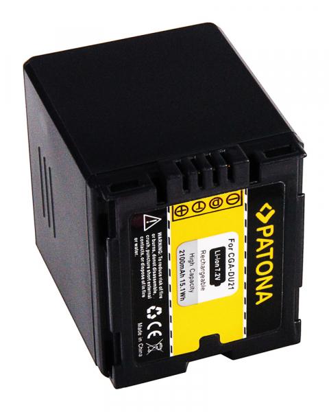 Acumulator Patona pentru Hitachi CGA-DU21 DZMV350A DZ-MV350A DZMV350E DZ-MV350E DZMV380A 2