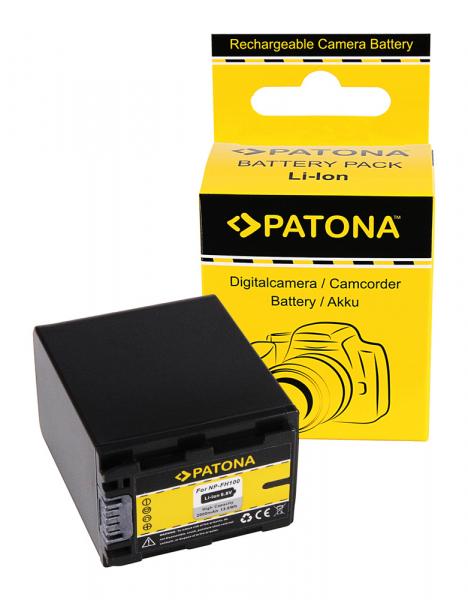 Acumulator Patona pentru Sony NP-FH100 DCR DCRDVD110 (E) DCR-DVD110 (E) DCRDVD150 0