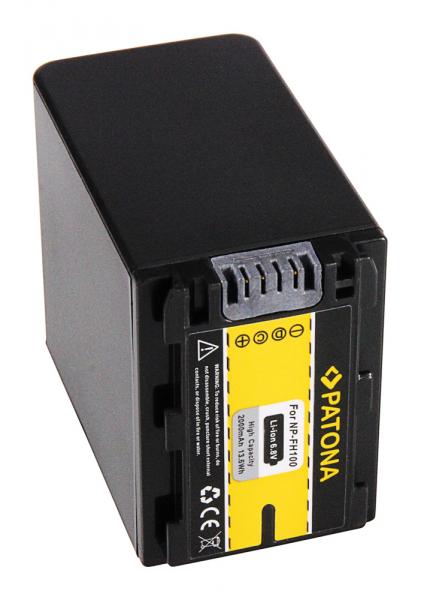 Acumulator Patona pentru Sony NP-FH100 DCR DCRDVD110 (E) DCR-DVD110 (E) DCRDVD150 2
