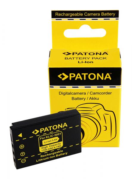 Acumulator Patona pentru Kodak Klic-5001 Easyshare DX6490 DX7590 DX7630 Z730 0