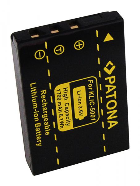 Acumulator Patona pentru Kodak Klic-5001 Easyshare DX6490 DX7590 DX7630 Z730 2