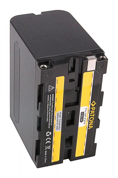 Acumulator Patona pentru Sony NP-F970 CCD CCDSC5 CCD-SC5 CCDSC65 CCD-SC65 CCDTR1 CCD-TR1 2