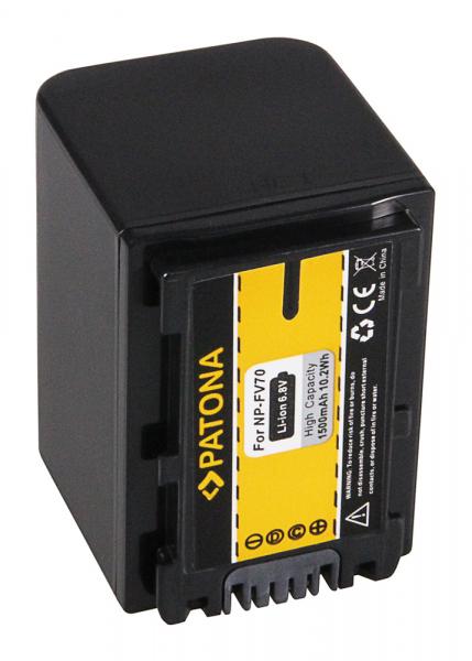 Acumulator Patona pentru Sony NP-FV70 CX E HDR.CX350VET E HDRCX350VET HDR.CX110 2