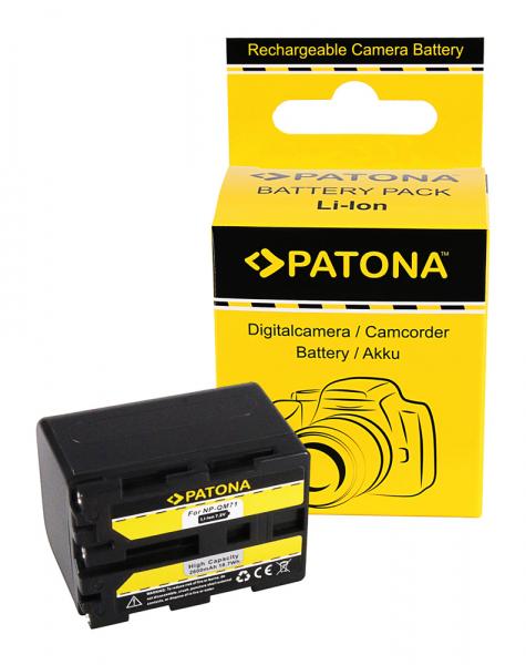 Acumulator Patona pentru Sony NP-FM70 CCD CCDTR108 CCD-TR108 CCDTR208 CCD-TR208 CCDTR408 0