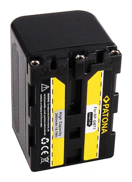 Acumulator Patona pentru Sony NP-FM70 CCD CCDTR108 CCD-TR108 CCDTR208 CCD-TR208 CCDTR408 2