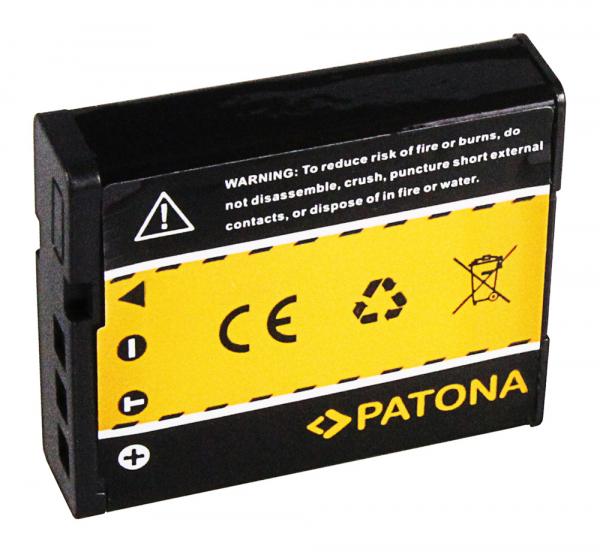 Acumulator Patona pentru Casio NP-130 Exilim EXH30 EX-H30 EXZR100 EX-ZR100 1