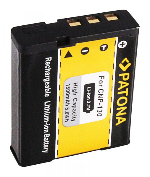 Acumulator Patona pentru Casio NP-130 Exilim EXH30 EX-H30 EXZR100 EX-ZR100 2