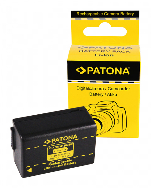 Acumulator Patona pentru Leica DMW-BMB9 V-Lux V-Lux 2 VLux 2 II V-Lux II VLuxII DMW-BMB9 0