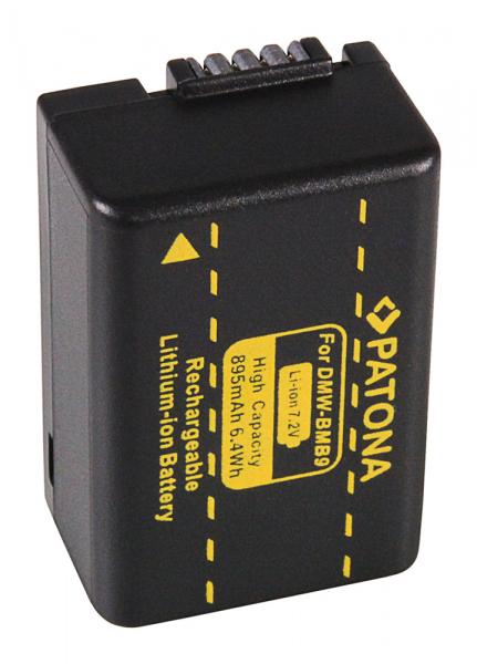 Acumulator Patona pentru Leica DMW-BMB9 V-Lux V-Lux 2 VLux 2 II V-Lux II VLuxII DMW-BMB9 2