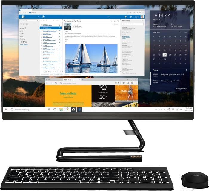 Sistem AIO Pc Lenovo IdeaCentre A340-24ICB, Intel Core i3-8100T, 8 GB RAM, 512 GB SSD  Win 10 PRO (F0E6006MGE) [0]
