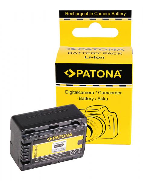Acumulator Patona pentru Panasonic VW-VBK180 H H100 H101 H95 VW-VBK180 HC HCV700 HC-V700 0
