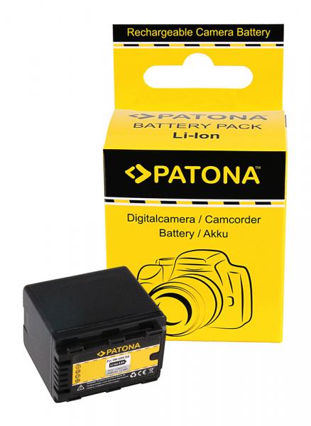 Acumulator Patona pentru Panasonic VW-VBK360 H H100 H101 H95 VW-VBK360 HC HCV700 HC-V700 0