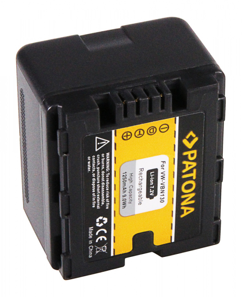 Acumulator Patona pentru Panasonic VW-VBN130 HDC HS900 SD800 SD900 SD909 TM900 X920M 2
