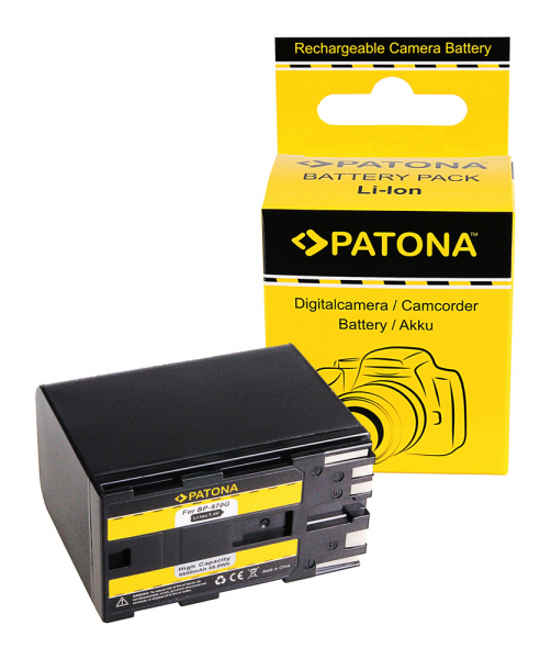 Acumulator Patona pentru Canon BP-970G EOS C100 BP-970G HA HA H1S BP-970G X 0
