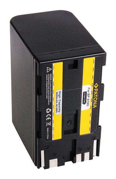Acumulator Patona pentru Canon BP-970G EOS C100 BP-970G HA HA H1S BP-970G X 2