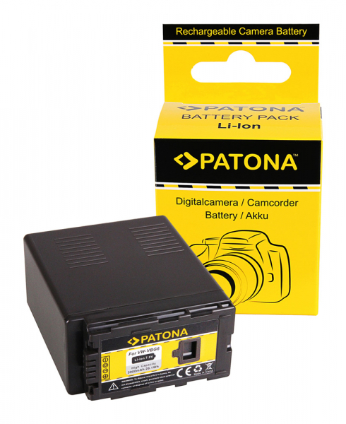 Acumulator Patona pentru Panasonic VW-VBG6 AG AGHCM150 AG-HCM150 AGHCM41 AG-HCM41 0
