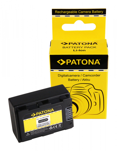 Acumulator Patona pentru Samsung IA-BP210E HMX HMXH203 HMX-H203 IA-BP210E SMX SMXF40 0