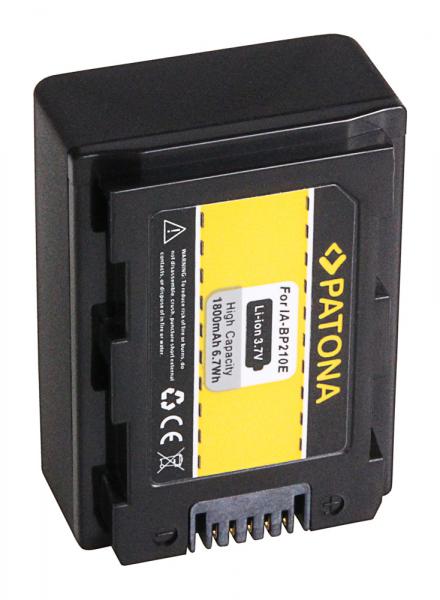 Acumulator Patona pentru Samsung IA-BP210E HMX HMXH203 HMX-H203 IA-BP210E SMX SMXF40 1