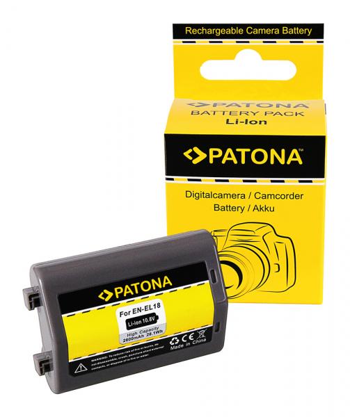 Acumulator Patona pentru Nikon EN-EL18 D4 D4s 0