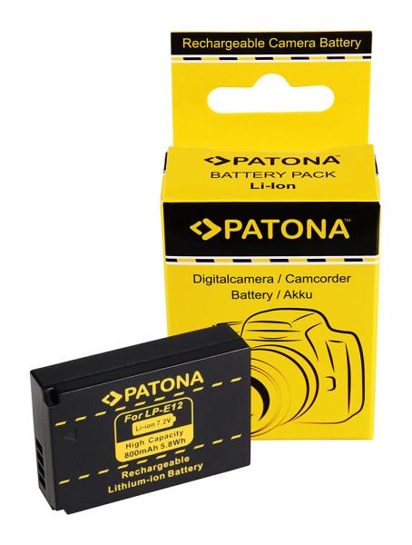 Acumulator Patona pentru Canon LP-E12 EOS 100D M 0