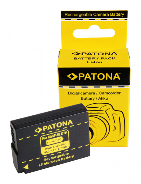 Acumulator Patona Panasonic DMW-BLD10 Lumix DMCGF2 DMC-GF2 0