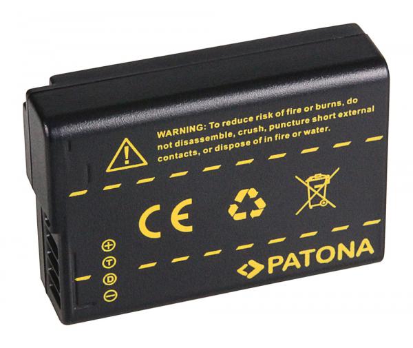Acumulator Patona Panasonic DMW-BLD10 Lumix DMCGF2 DMC-GF2 1