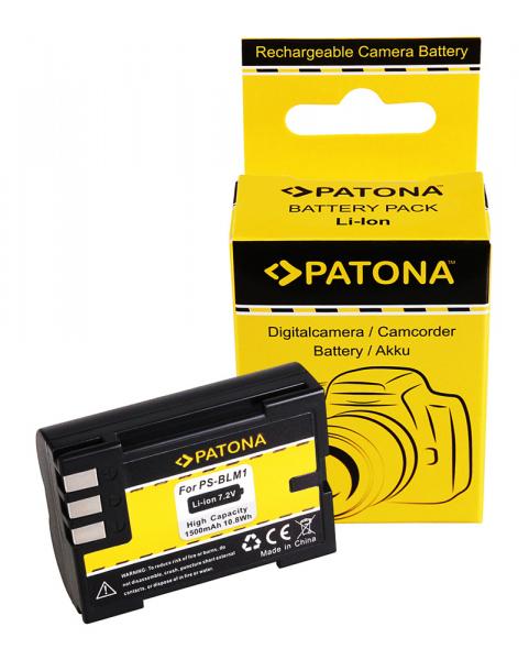 Acumulator Patona pentru Olympus PS-BLM1 C 7070 8080 PS-BLM1 E E3 E-3 E30 E-30 E300 E330 0