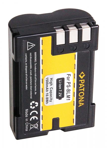Acumulator Patona pentru Olympus PS-BLM1 C 7070 8080 PS-BLM1 E E3 E-3 E30 E-30 E300 E330 2