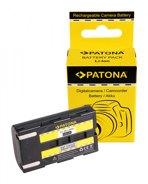 Acumulator Patona pentru Samsung SB-LSM80 D D351i D352i D453i D963i d965Wi SB-LSM80 VP 0